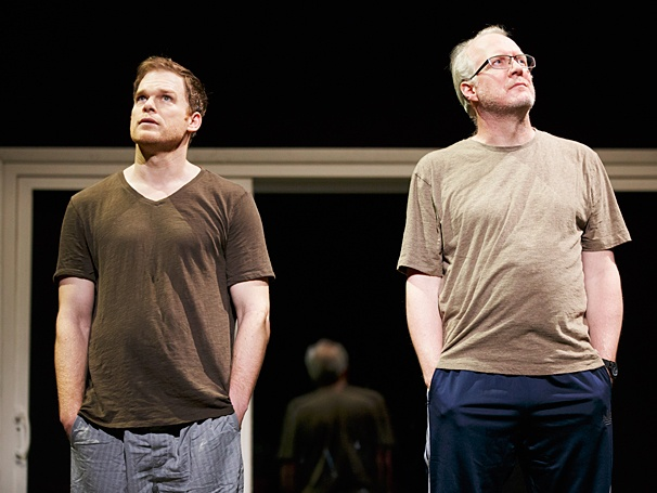 The Realistic Joneses - Show Photos - PS - 4/14 - Michael C. Hall - Tracy Letts