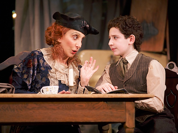 Act One - Show Photos - PS - 4/14 - Andrea Martin - Matthew Schechter