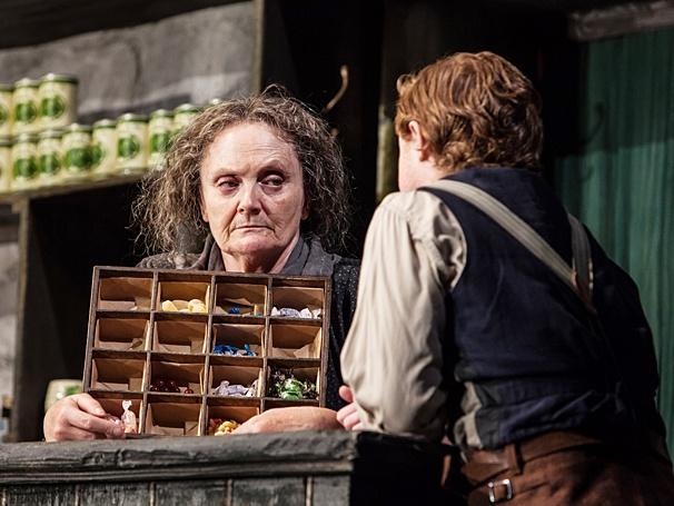 The Cripple of Inishmaan - Show Photos - PS - 4/14 - Gillian Hanna - Conor MacNeill