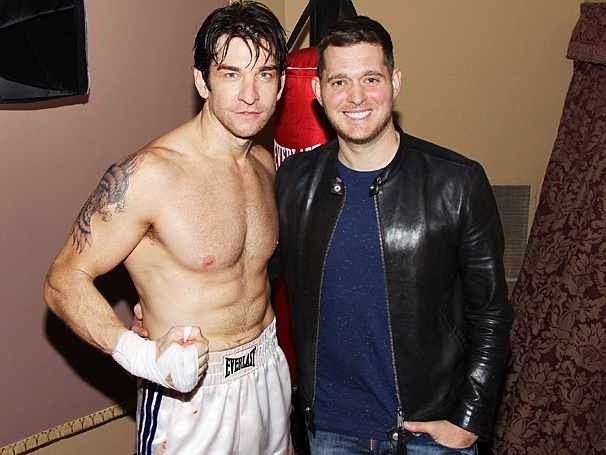 Rocky - Backstage - OP - 7/14 - Andy Karl - Michael Buble