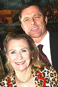 Maxwell Caulfield And Wife