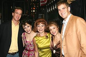 Manning Brothers Meet the Jersey Boys - Peyton Manning - jersey girls - Eli Manning