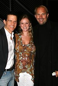 Photo Op - Kevin Costner at Jersey Boys - Christian Hoff - Melissa Hoff - Kevin Costner