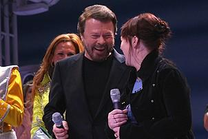 Photo Op - Mamma Mia! Fifth Anniversary - cc - Bjorn Ulvaeus - Catherine Johnson