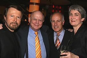Photo Op - Mamma Mia! Fifth Anniversary - Bjorn Ulvaeus - Gerald Schoenfeld - Joseph P. Benincasa - Nina Lannan