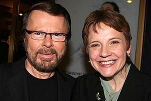 Photo Op - Mamma Mia! Fifth Anniversary - Bjorn Ulvaeus - Tara Rubin