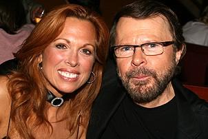 Photo Op - Mamma Mia! Fifth Anniversary - Carolee Carmello - Bjorn Ulvaeus