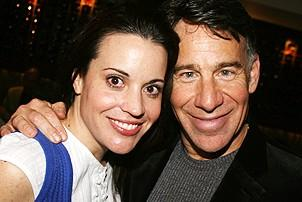 Photo Op - Stephen Schwartz Portrait at Tony's DiNapoli - Jenna leigh Green - Stephen Schwartz
