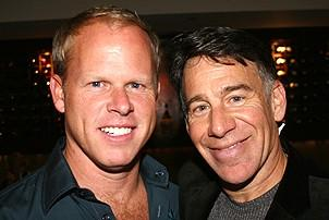 Photo Op - Stephen Schwartz Portrait at Tony's DiNapoli - Michael Cole - Stephen Schwartz