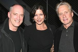 Catherine Zeta-Jones and Michael Douglas Visit Jersey Boys - Donnie Kehr - Catherine Zeta-Jones - Michael Douglas