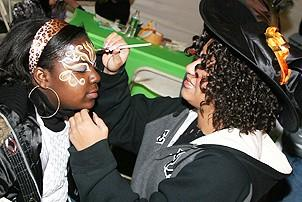 Photo Op - Wicked Day 2006 - face painting 2