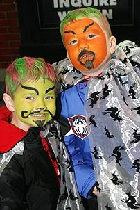 Photo Op - Wicked Day 2006 - two little tough guys