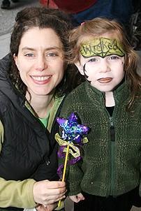 Photo Op - Wicked Day 2006 - Nina Essman - (daughter) Lorelei