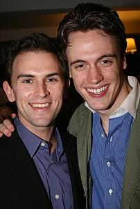 Photo Op - Des McAnuff at Sardis - Daniel Reichard - Erich Bergen