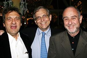 Photo Op - Les Miz opening - Alain Boublil - Richard Maltby Jr. - Claude-Michel Schonberg