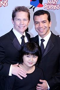 Photo Op - Mary Poppins Opening - Jack Noseworthy - Sergio Trujillo - Anna