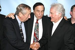 Photo Op - Mary Poppins Opening - Roy Disney - Robert B. Sherman - Richard Eyre