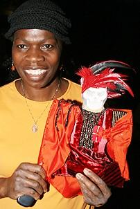 Photo Op - 19th Anniversary of Phantom - Thelma Pollard