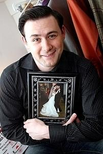 Photo Op - Jersey Boys in SF - Christopher Kale Jones (wedding picture)