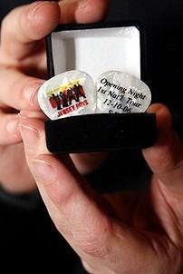 Photo Op - Jersey Boys in SF - guitar picks