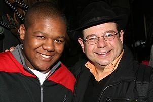 Photo Op - Kyle Massey at The Lion King - Kyle Massey - Danny Rutigliano