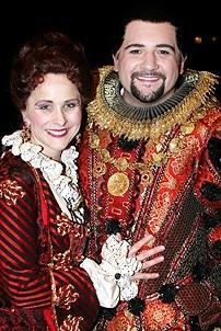 Photo Op - Phantom 8,000th Performance - Anne Runolfsson - Jimmy Smagula