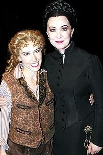 Photo Op - Phantom 8,000th Performance - Heather McFadden - Marilyn Caskey