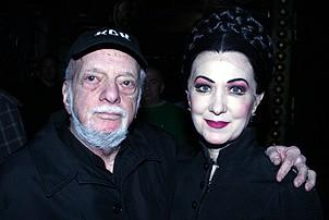 Photo Op - Phantom 8,000th Performance - Hal Prince - Marilyn Caskey