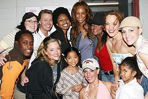 Photo Op - Tyra Banks at Legally Blonde - Tyra Banks - Ming Lee Simmons - Aoki Lee Simmons