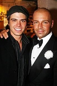 Photo Op - Matthew Lawrence & Cheryl Burke at Chicago - Matthew Lawrence - Joey Lawrence