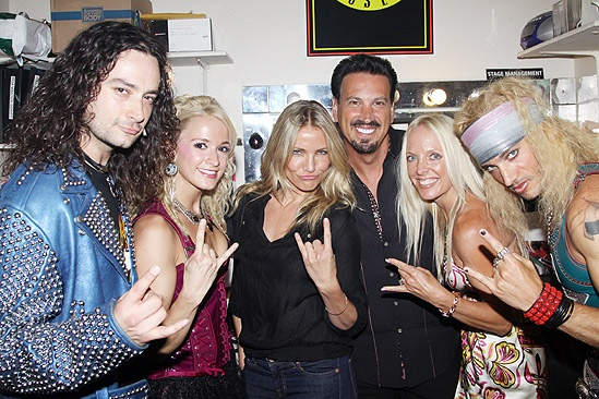 Cameron Diaz and A-Rod at Rock of Ages – Constantine Maroulis – Emily Padgett – Cameron Diaz – Barry Babib – Toni Habib – James Carpinello