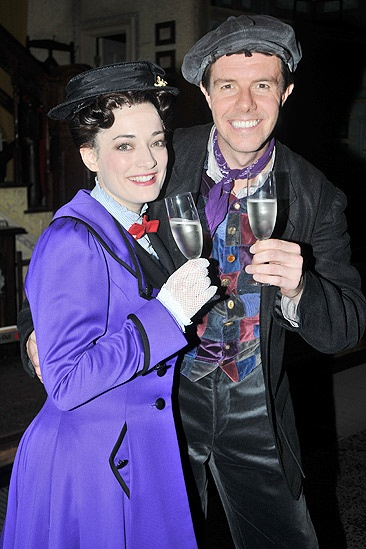 Gavin Returns Poppins  Laura Michelle Kelly  Gavin Lee  5
