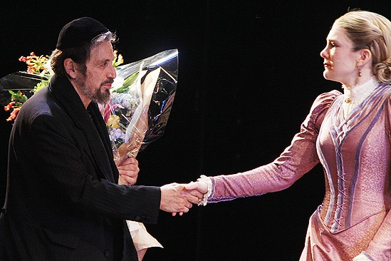 Merchant of Venice Opening night – Al Pacino – Lily Rabe