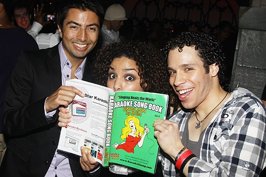 Jordin Sparks party  Shaun Taylor-Corbett - Jordin Sparks  Robin de Jesus