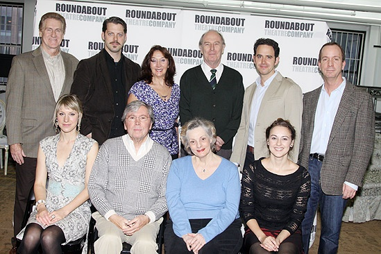 The Important of Being Earnest Cast Meet and Greet – Paul O'Brien – Charlotte Parry –David Furr – Brian Bedford – Sandra Shipley – Dana Ivey – Paxton Whitehead – Santino Fontana – Sara Topham – Tim MacDonald