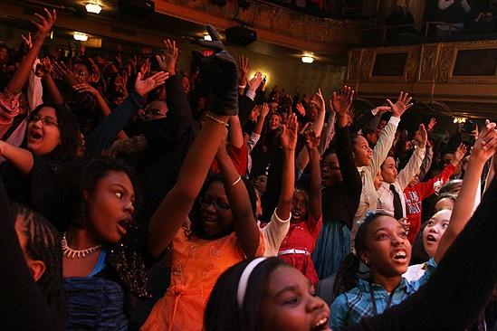 Memphis kids benefit – audience of <i>Memphis</i>