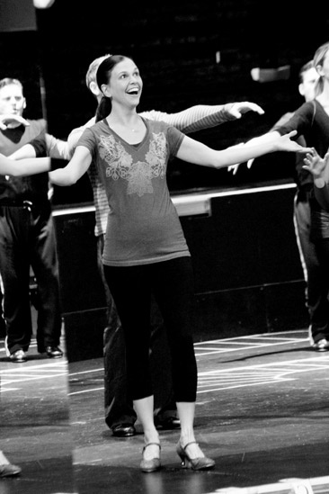 Anything Goes in Rehearsal  Sutton Foster