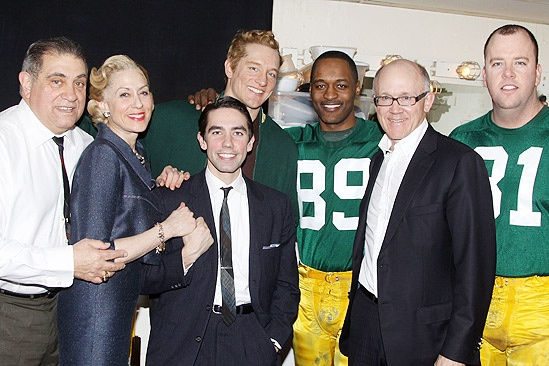 Lombardi Woody  - Dan Lauria Judith Light – Keith Nobbs – Bill Dawes – Javon Johnson – Woody Johnson - Chris Sullivan