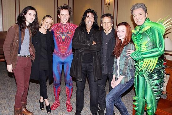 Spidey Stiller - Zane Carney - Christine Taylor - Reeve Carney - Alice Cooper - Ben Stiller - Jennifer Damiano