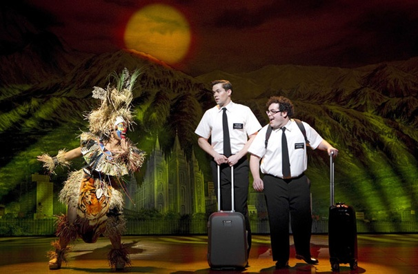 Show Photos - The Book of Mormon - Rema Webb - Andrew Rannells - Josh Gad