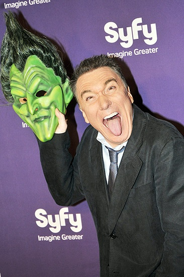 Syfy Stars at <i>Spider-Man, Turn off the Dark</i> - Patrick Page