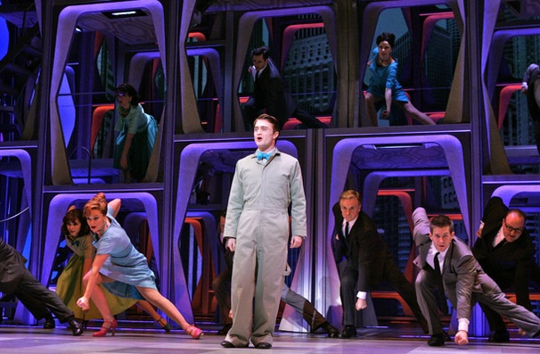 Show Photos - How to Succeed in Business - Daniel Radcliffe - cast