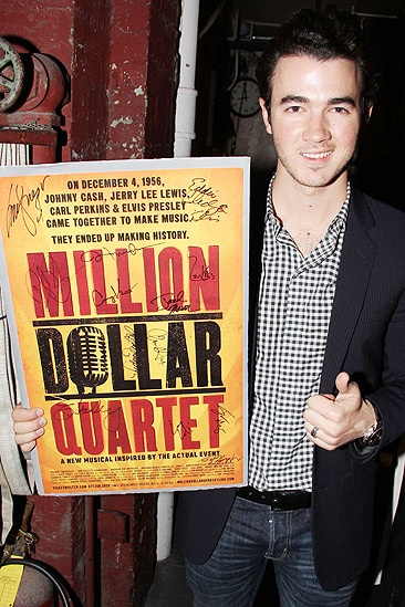 Kevin Jonas at Million Dollar Quartet  Kevin Jonas