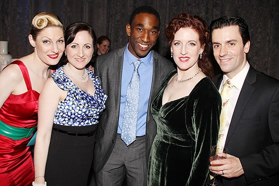 Anything Goes Opening Night – Becca Ayers – Margot de la Barre – Anthony Wayne – Linda Mugleston – Clyde Alves