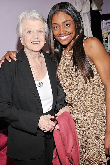 Jonathan Groff and Angela Lansbury at <i>Sister Act</i> - Angela Lansbury – Patina Miller