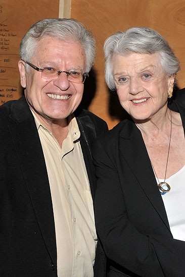 Jonathan Groff and Angela Lansbury at &lt;i&gt;Sister Act&lt;/i&gt; - Jerry Zaks  Angela Lansbury 