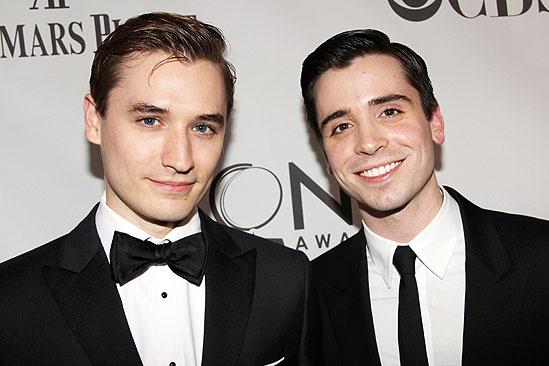 2011 Tony Awards Red Carpet – Seth Numrich - Matt Doyle