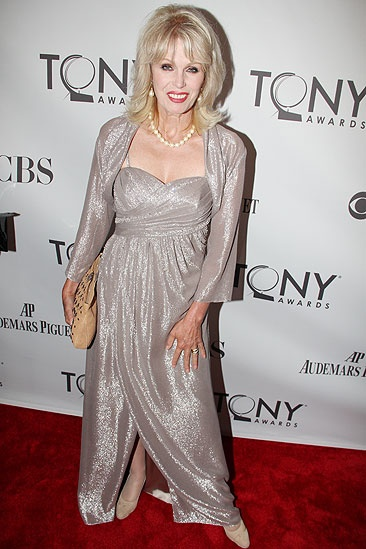 2011 Tony Awards Red Carpet – Joanne Lumley
