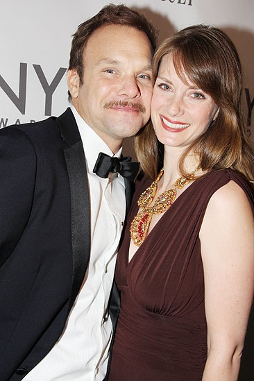 2011 Tony Awards Red Carpet – Norbert Leo Butz - Michelle Federer