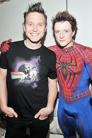 Spider-Man Hoppus - Mark Hoppus - Matthew James Thomas